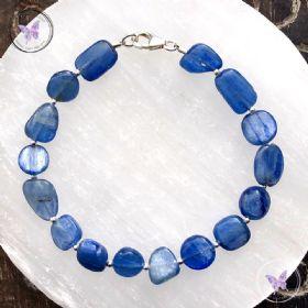 Blue Kyanite Pebble Bracelet